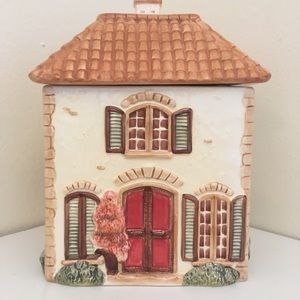Accents - Hand Painted Canister by Pier 1